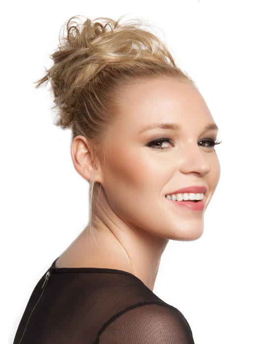 Cute Updo Hairstyles for long faces