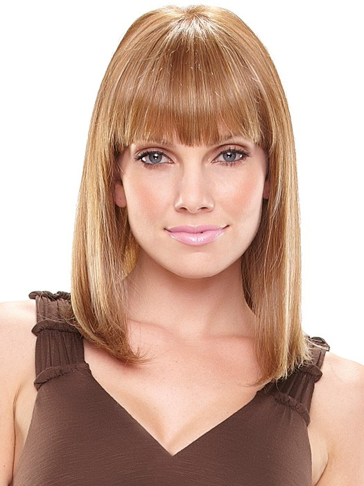 Mid-Length Hairstyles with bangs