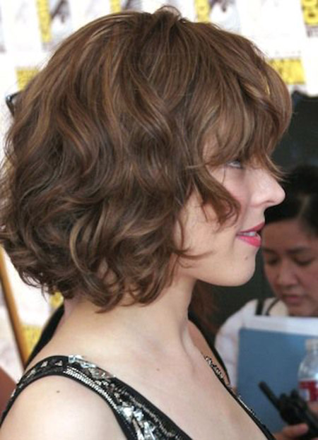 Wavy Volume - Short Hairstyles for Fine Hair