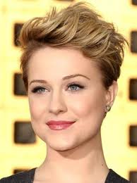 Rocker Pixie - Short Hairstyles for Round Face