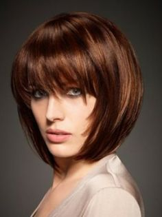 Tailor Made Bob - Short Hairstyles for Round Face