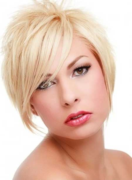 Combination Bob - Short Hairstyles for Round Face
