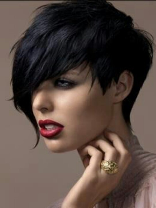 Edgy and Forward - Short Hairstyles for Round Face