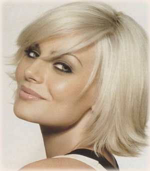 Flirty Flip - Short Hairstyles for Round Face