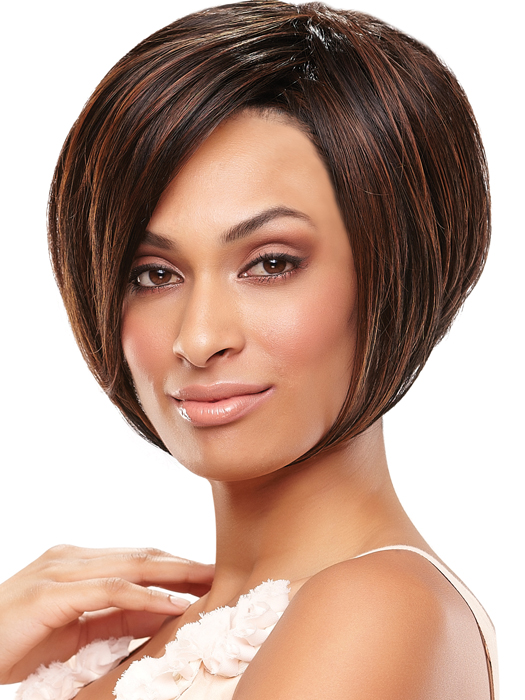 Short Layered Hairstyles, Angled bob style