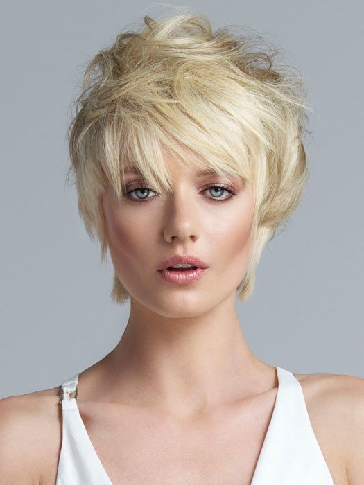 Short Layered Hairstyles, Blonde, messy style