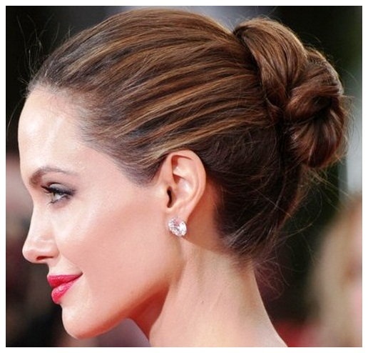Beautiful simple updos for long hair