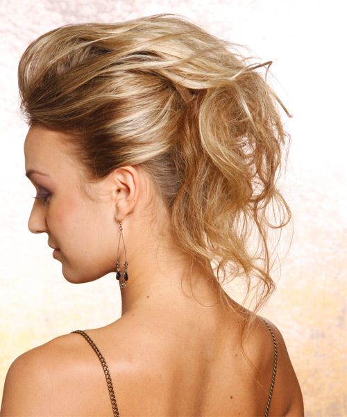 Easy updos for long hair for blondes