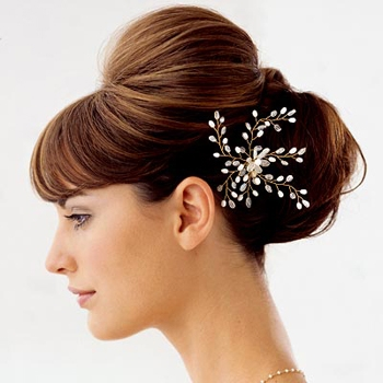 Easy updos for long hair for wedding hair style