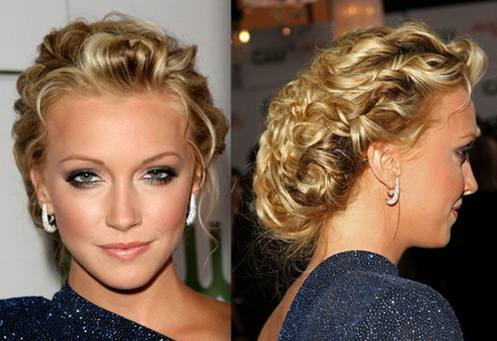 Long hair updos for blonde hair
