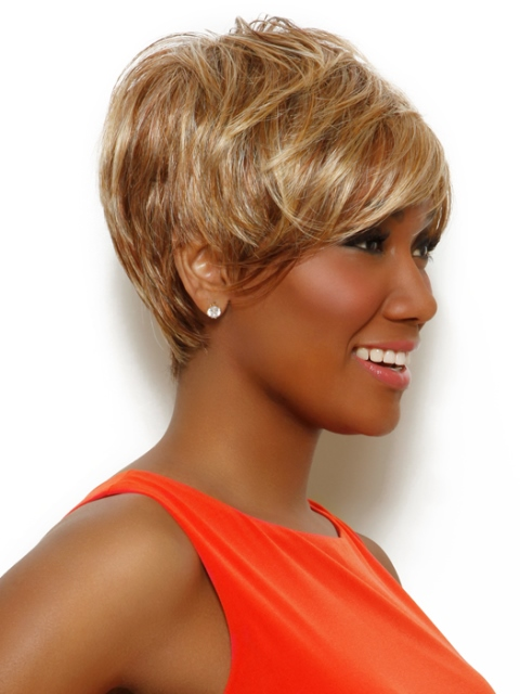 Short haircuts for african american women