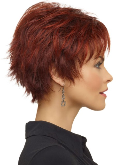 Short haircuts with layers for women