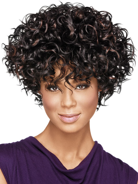 Short hair styles for curly hair for african americans