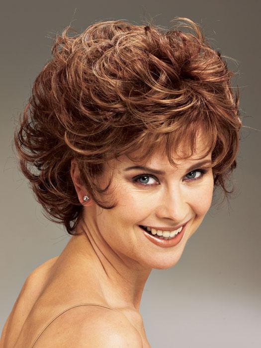 Phenomenal Short Curly Hair For Over 40 Short Hair Fashions Short Hairstyles Gunalazisus