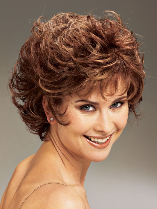 Short hair styles for curly hair, women over 40