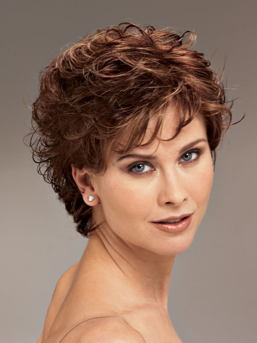 Short hair styles for curly hair women over 40