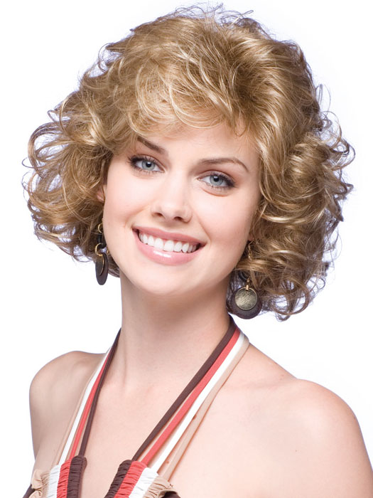 Short hair styles for fine curly hair