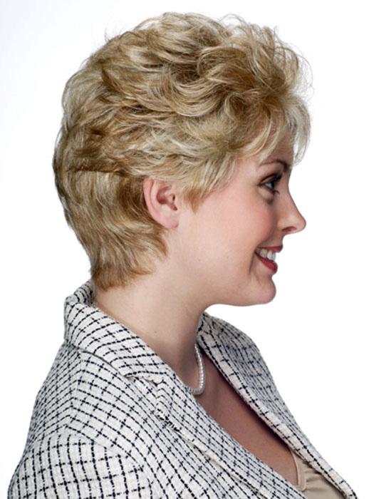 Short  hair styles for smooth curly hair