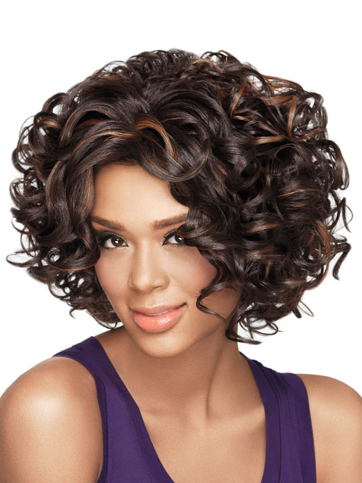 Short hair styles for soft curly hair
