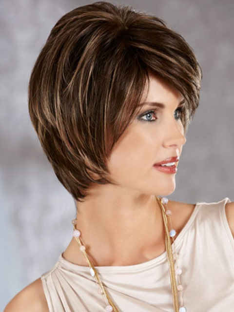 15 Short Hairstyles  for Long  Faces  Olixe Style