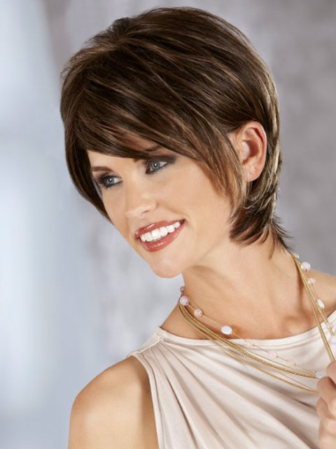 15 Short Hairstyles for Long Faces | Olixe - Style Magazine For Women