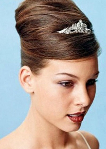 Simple updos for long hair, for bridal hair style