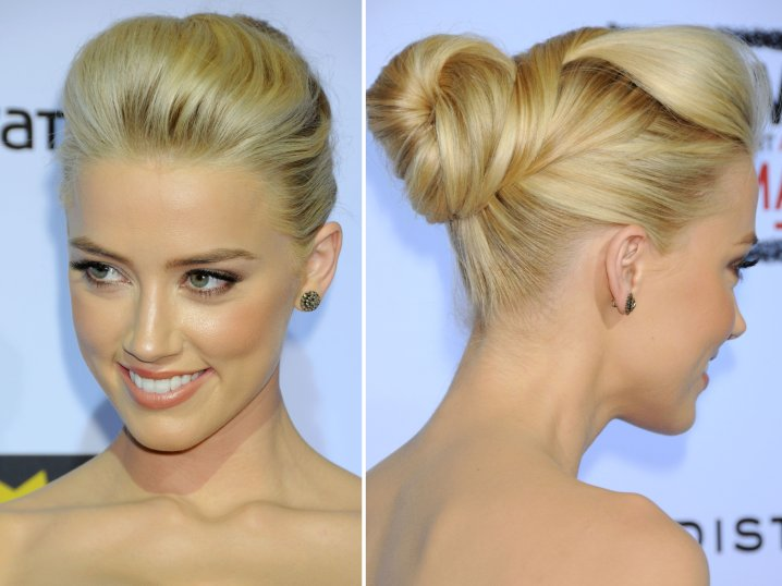 Simple updos for long hair for girls