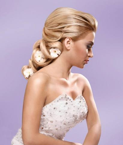 Long hair updos for wedding hair styles