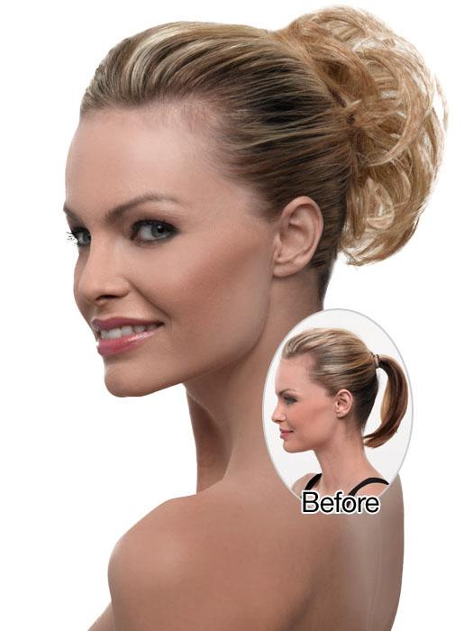 Texture Wrap - Updos for Shoulder Length Hair