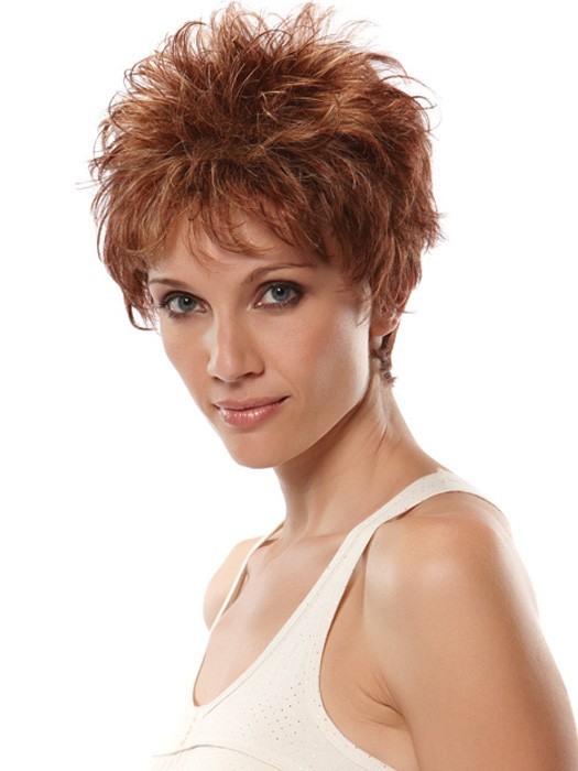 Very Short Spiky Hairstyles Women Spiky Short Hairstyle With Close ...
