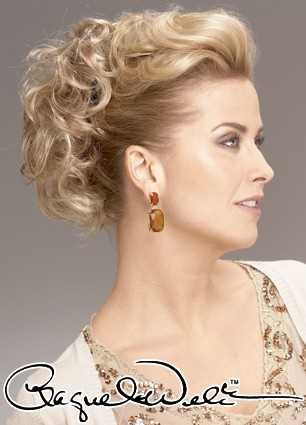 UpDo Curls by Raquel Welch - Updos for Shoulder Length Hair