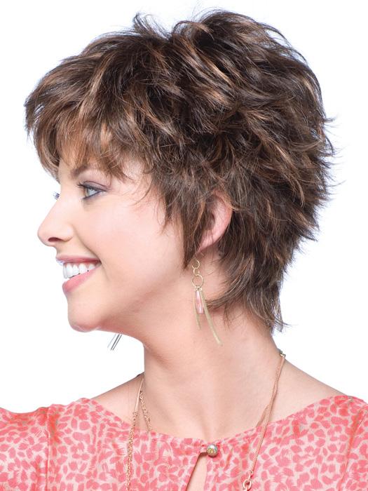 Tia Noriko - Short Spiky Hairstyles