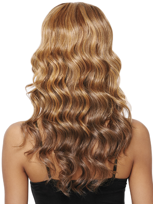 Goddess Wave - Highlights with Hair Color for Dark Skin tone