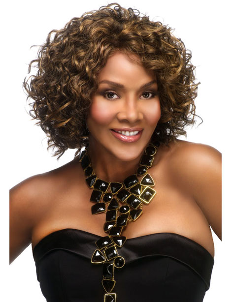 Vivica Fox - Short Curly Hairstyles