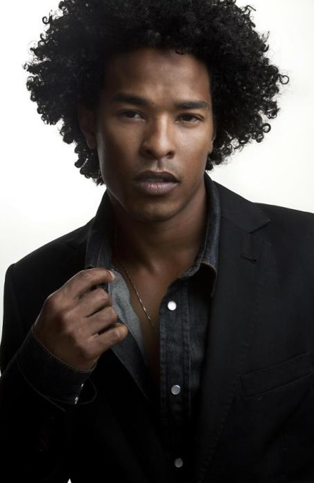 Long and Curly - Hairstyles for Black Men