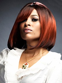 Polished Babe - Red hair color with dark skin tones