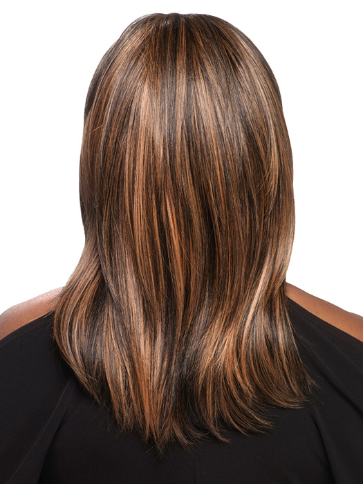 Highlights with Hair Color for Dark Skin tone