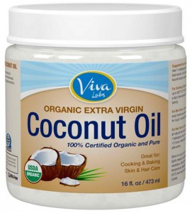 Organic extra virgin coconut oil by Viva Labs - Buy it at Amazon