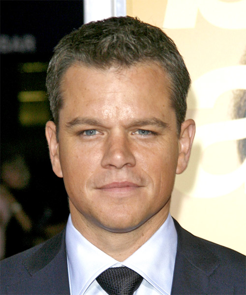 Matt Damon - Cool Short hairstyles for Men