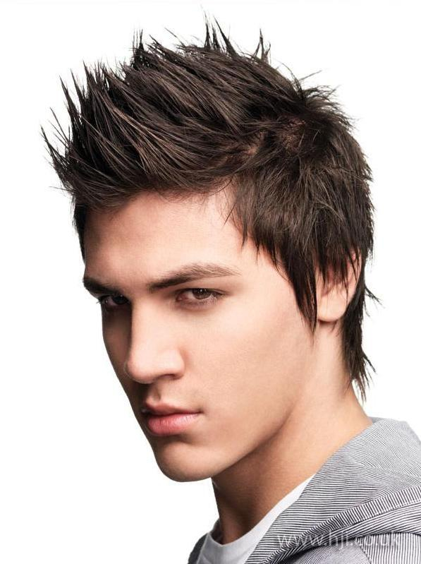 Sideways Faux - Men's hairstyles short