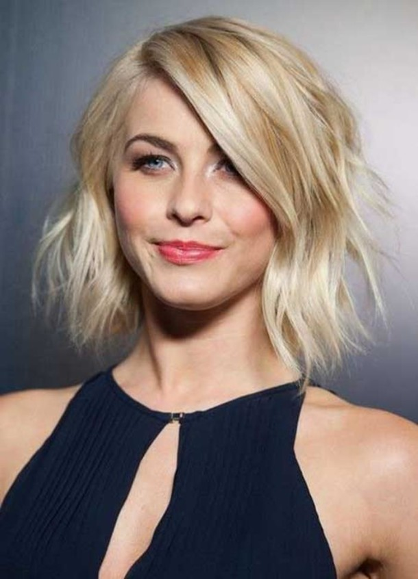Wavy-Bob-Short-Easy-Hairstyles