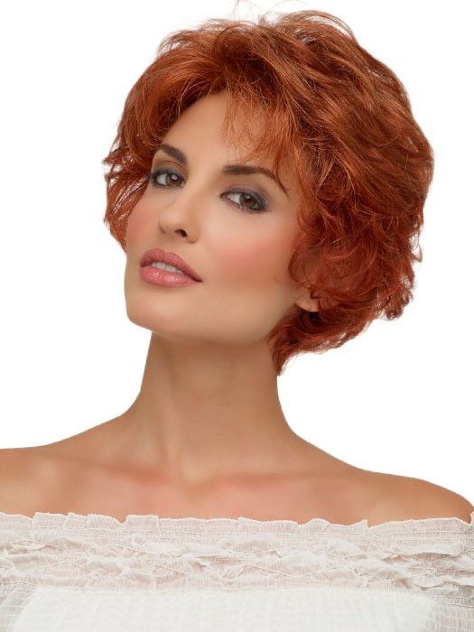 Bryn by Envy - Beautiful Short Curly Haircuts - Red Hair