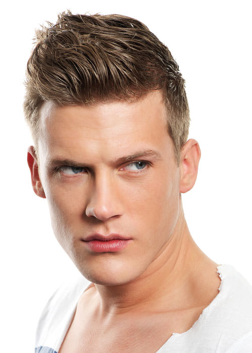 The Jason -Longer on Top - Short Hairstyle for Men