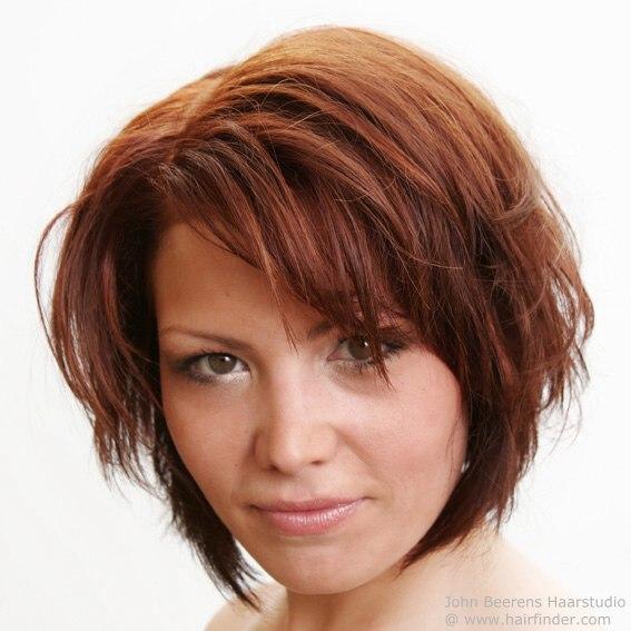 Combination Bob - Short haircuts for fine hair